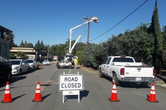 Utility Road Closure
